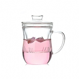 glass tea maker with filter HB01