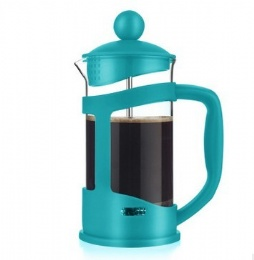 High Quality With Plastic Handle French Press Coffee Maker 1000ML
