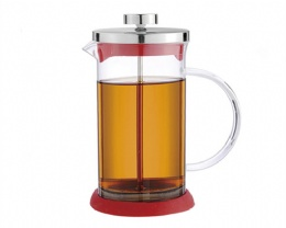 FDA High Quality350ml Promotion Gift Borosilicate Glass French Press