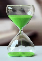 Time glass-hour glass